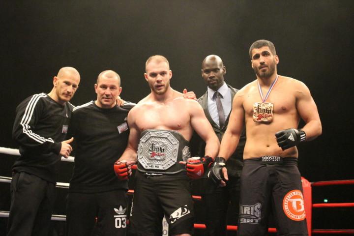 Florian NAVARRO VAINQUEUR CEINTURE FIGHT SELECT 3 -120